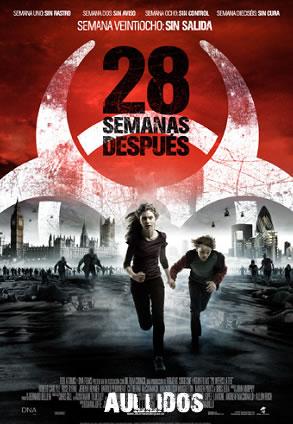caratula 28 semanas despues dvd
