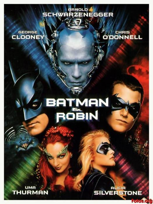 Batman y Robin y el amor por las plantas de Poison Ivy