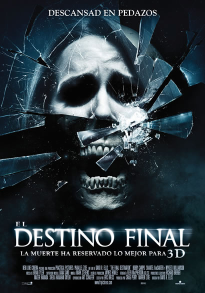 FIN DE SEMANA DEL 30 DE OCTUBRE AL 1 DE NOVIEMBRE DEL AÑO 2009 Destino-final-3d