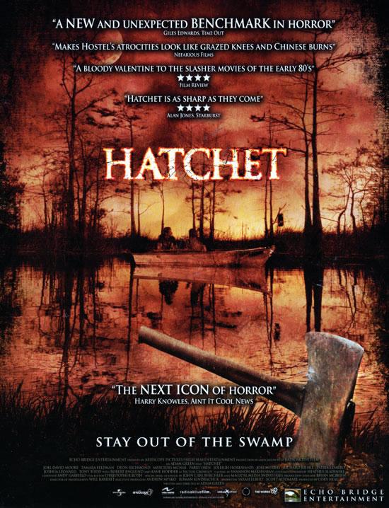 Hatchet - Adam green (2007) Hatchet