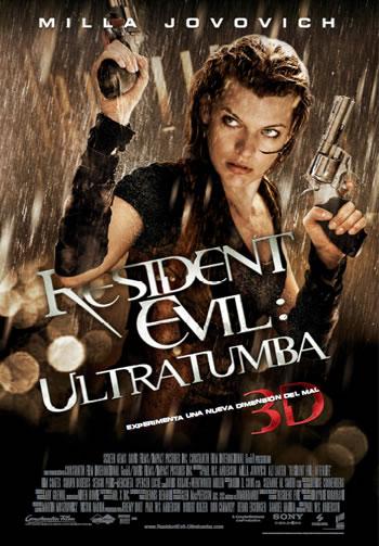 Dos cortitas de cine: Resident evil afterlife y Saw 7