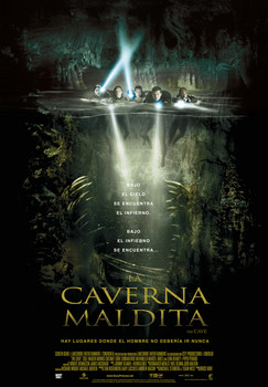 cartel versión castellana de The Cave