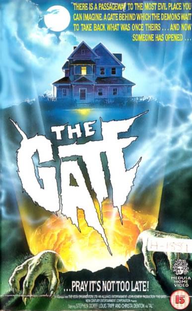 Busco película de terror antigua Thegate