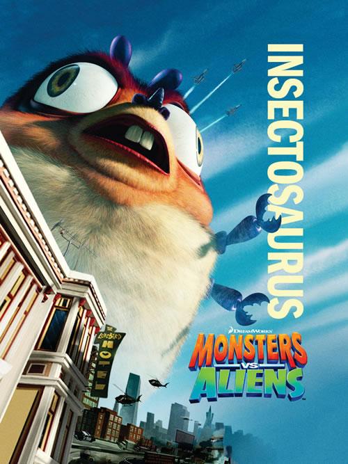 Poster: Monster vs Aliens
